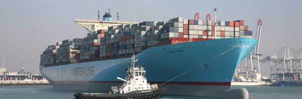Maersk top executives rush to meeting