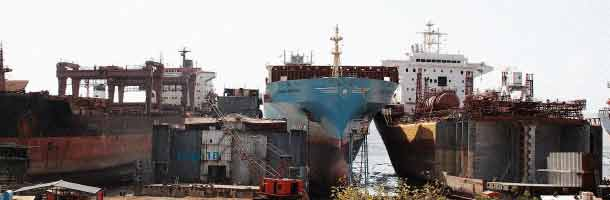 Maersk scraps more ships in India