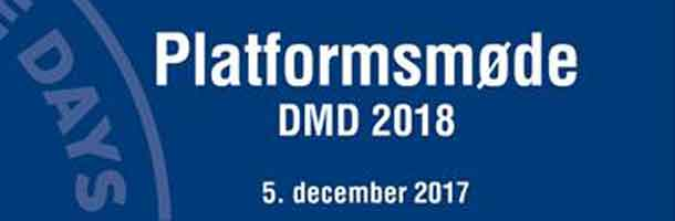 Danish Maritime Days meeting on 5 Dec.