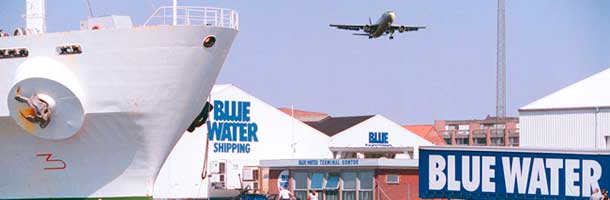 Blue Water manages large transport to China