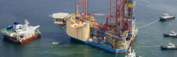 Disaster struck Maersk-rig gets new project