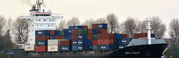 Containership goes aground North of Fyn