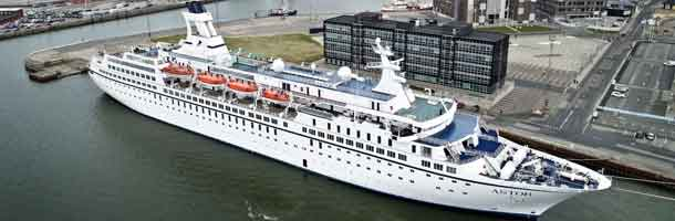 Astor opened the cruise season in Esbjerg