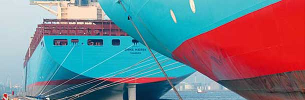 Problems take toll on value of Maersk brand.