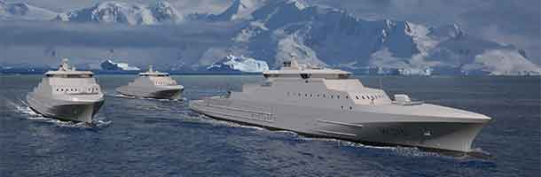 Coats Guard Ships to be built in Norway