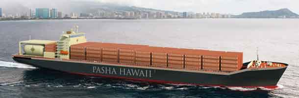 MAN propulsion for LNG-Containerships