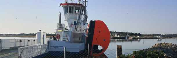 Ferry out of service due to vandalism