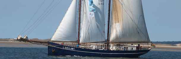 Old Danish ships attend TallShips Races