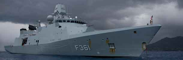 Danish frigate will support French carrier