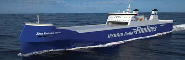 Knud E. Hansen develop RoRo's for Finnlines