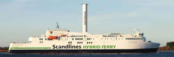 Scandlines installs rotor sail on board ferry