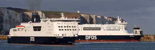 DFDS downsize its organization