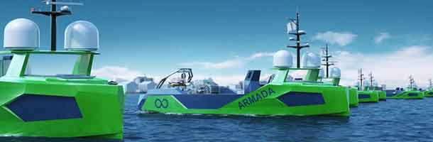 Autonomous vessels powered by Danfoss